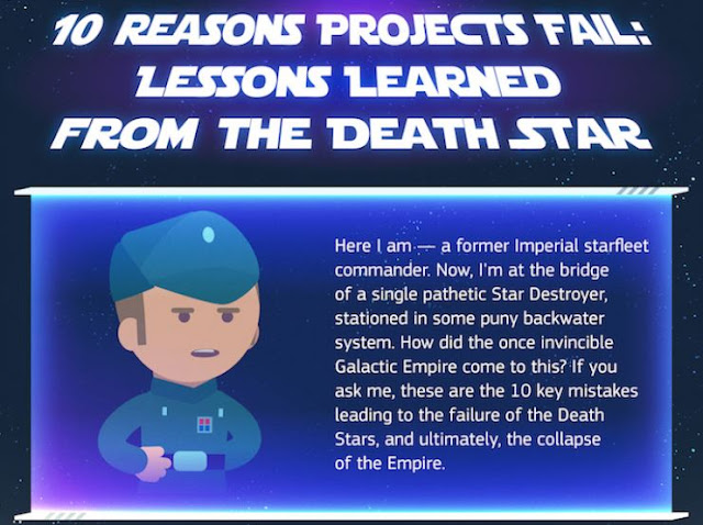 business lessons reasons the death start project failed star wars projects management