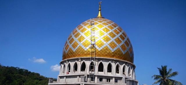 Menaksir Harga Kubah Masjid