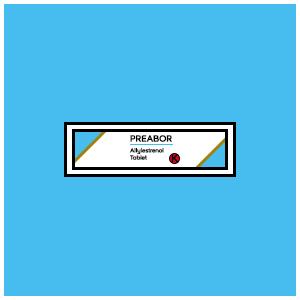 Preabor : Allylestrenol Tablet