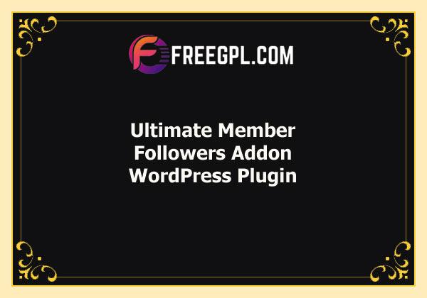 Ultimate Member Followers Addon Free Download