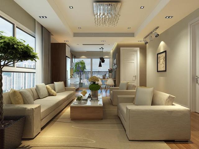 Nội thất căn hộ của chung cư Bel Air Hà Nội