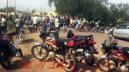Shock As Commercial Motorcycle Rider Stabs Task Force Official In Abuja