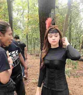 Angel Lisandi - Fanya Masuk Syuting Guru Singa Sekap Fatih