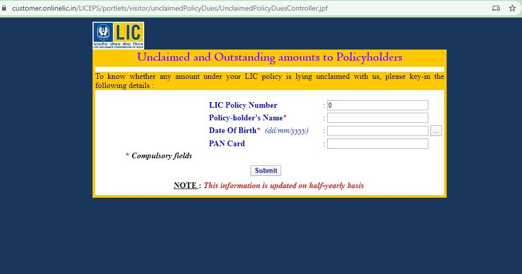 LIC Branch Offices in India : LIC Unclaimed and ...