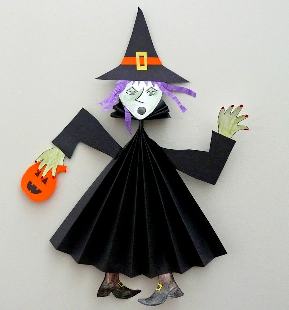 Witch Paper Crafts Printable - imgUrl