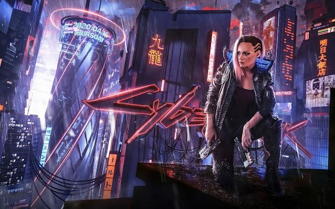 Papel de Parede Jogo Cyberpunk 2077