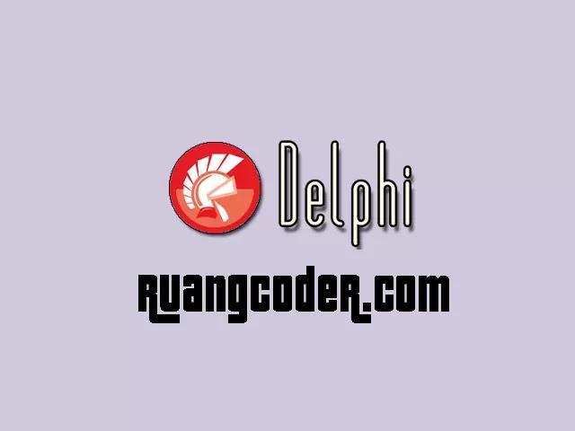 Bahasa Pemrograman Delphi - Pengertian, Sejarah dan Contohnya