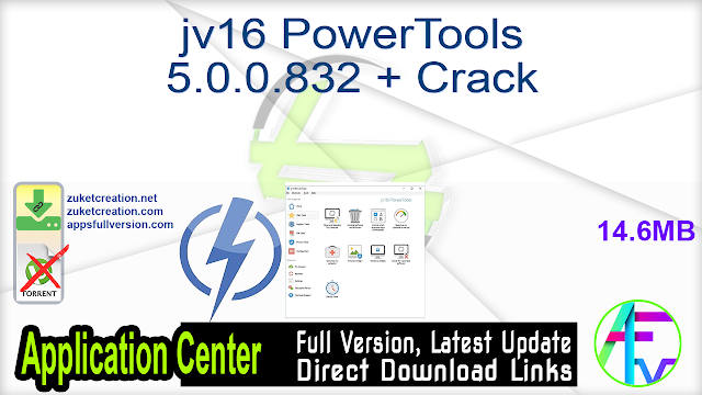 jv16 PowerTools 5.0.0.832 + Crack