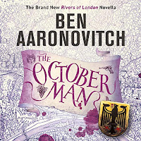 Audiobook cover for October Man