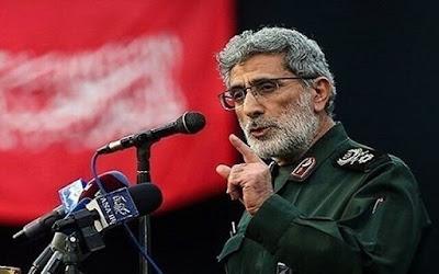 Quem é Esmail Ghaani o sucessor de Soleimani?