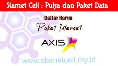 daftar harga paket internet axis