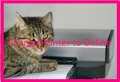 Change Printer to Online