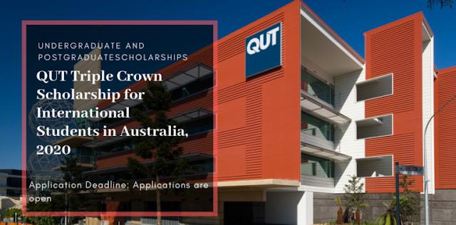 منحة جامعة كوينزلاند للتكنولوجيا  للطلاب الدوليين لدراسة لبكالوريوس والماجستير في أستراليا ، 2020