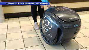 Philadelphia airport employs robot for contact-free food delivery
