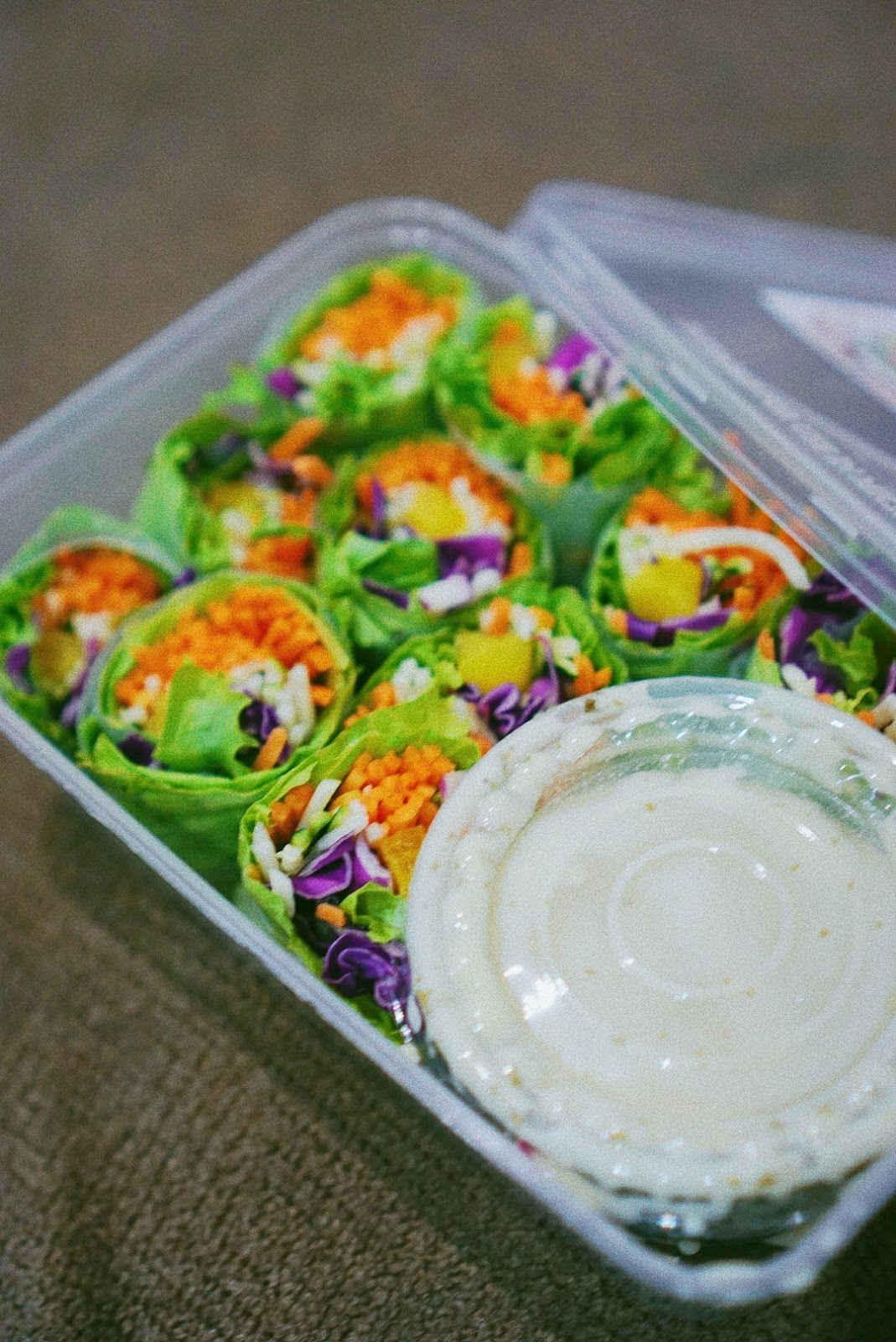 Serasa Salad Bar = Sekotak Pelangi Bernutrisi - Salad Roll 2