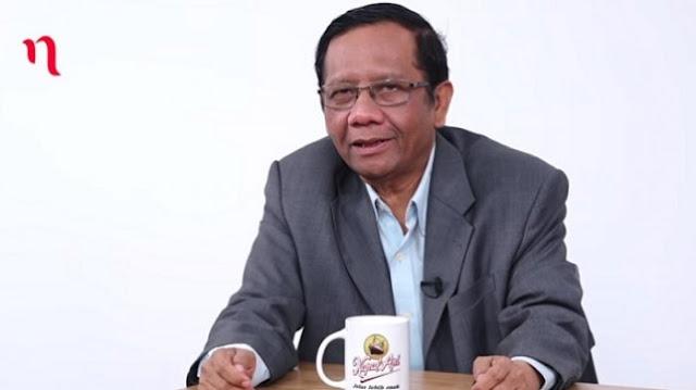 Mahfud: Dulu Kita Jatuhkan Pak Harto karena KKN, Apa Kita Gak Merasa Berdosa Sekarang KKN Lebih Banyak?