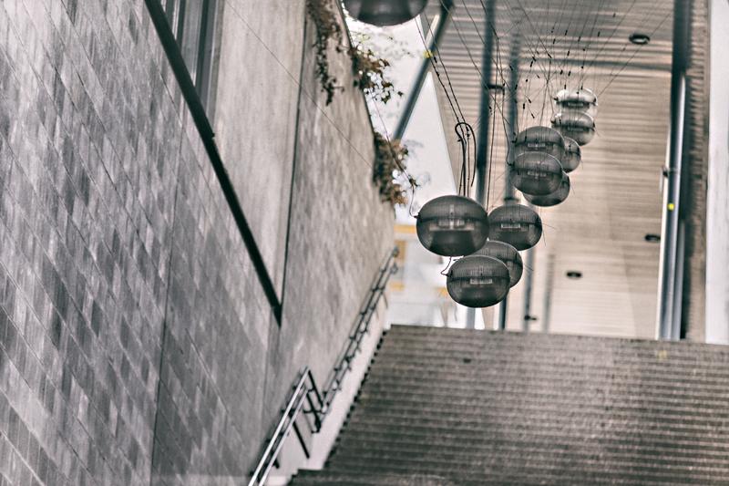 Espoo, Visualaddict, valokuvaaja, Frida Steiner, rappuset, lamput, Entresse
