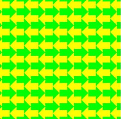 Optical Illusion-Arrows