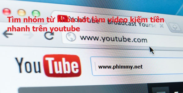 kiem tien online, seo video youtube, kiem tien tren youtube