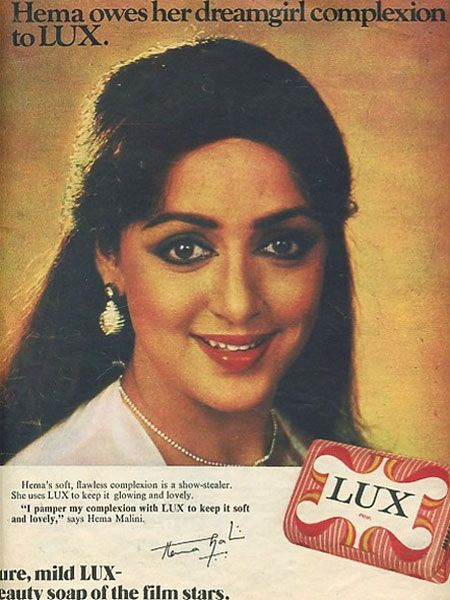 simply sowpar: old indian ad for Lux soap - starring Hema,the ...