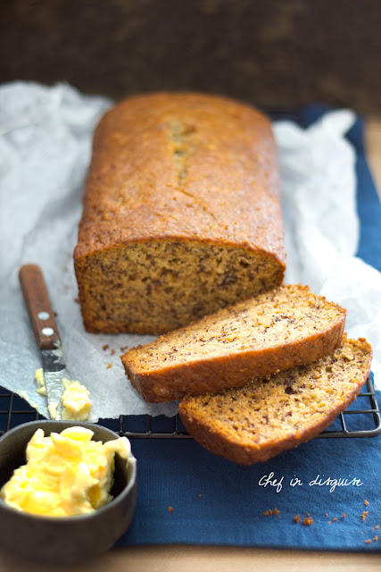 Featured Recipe | The Ultimate Banana Bread from Chef in Disguise #bananabread #bananas #recipe #SecretRecipeClub