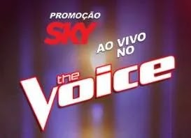 Cadastrar Promoção Sky Ao Vivo The Voice Los Angeles - Viagem e Fones Sony