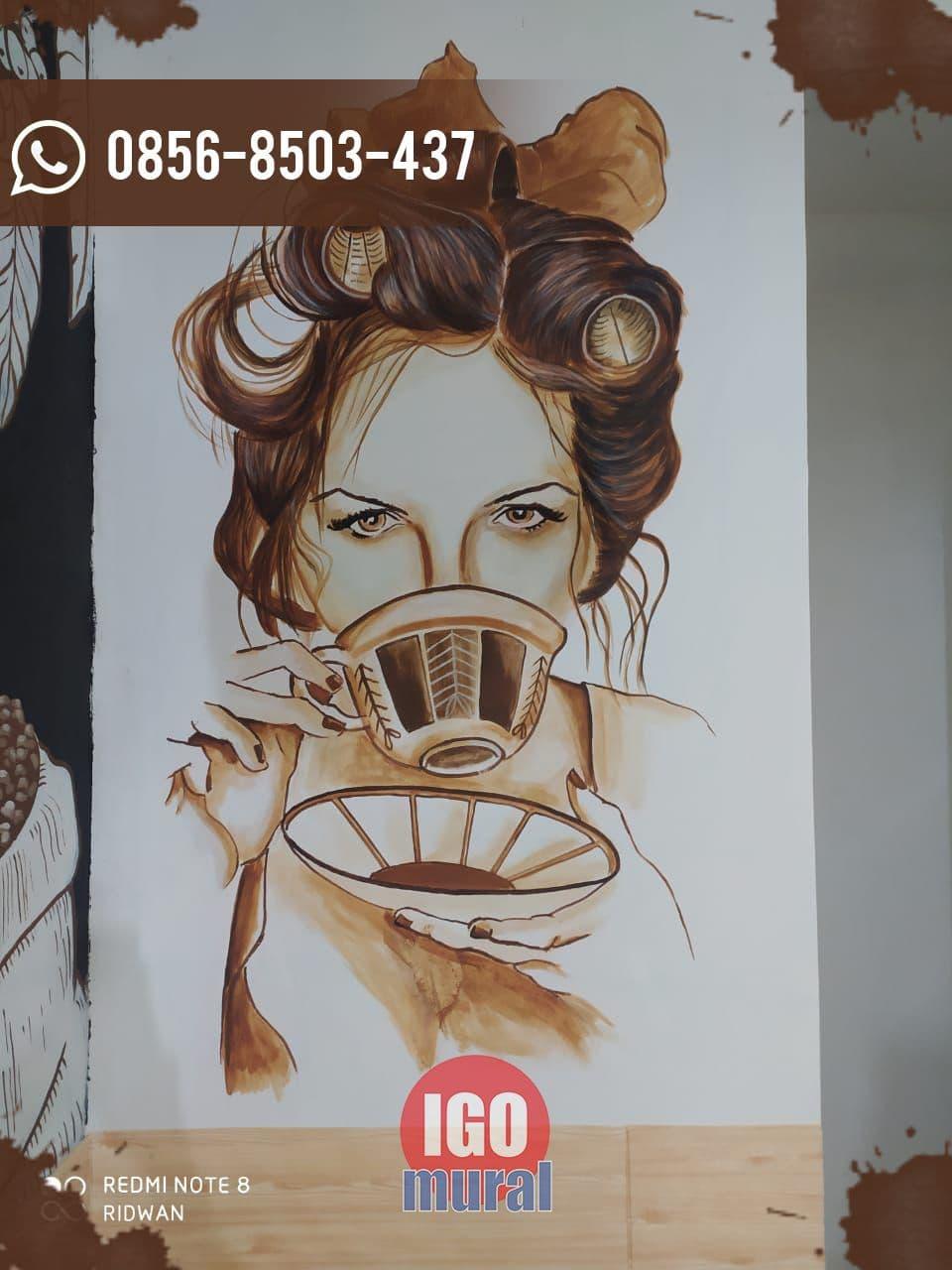 Lukisan Tembok cafe terbaik