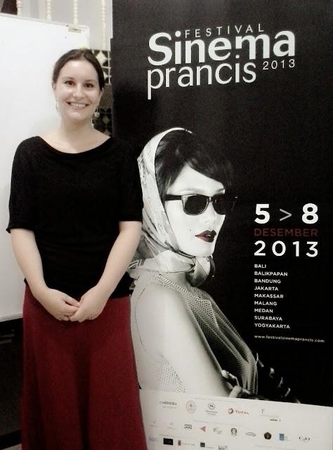 Hélène Lepkowski, Direktur Alliance Française Medan - Festival Film Prancis: Indonesia Miliki Minat Nonton Film Tinggi