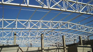 foto estrutura metalica