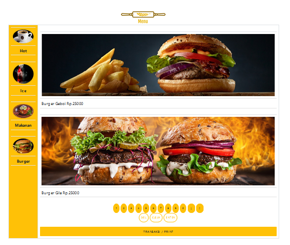 restoran online menu digital