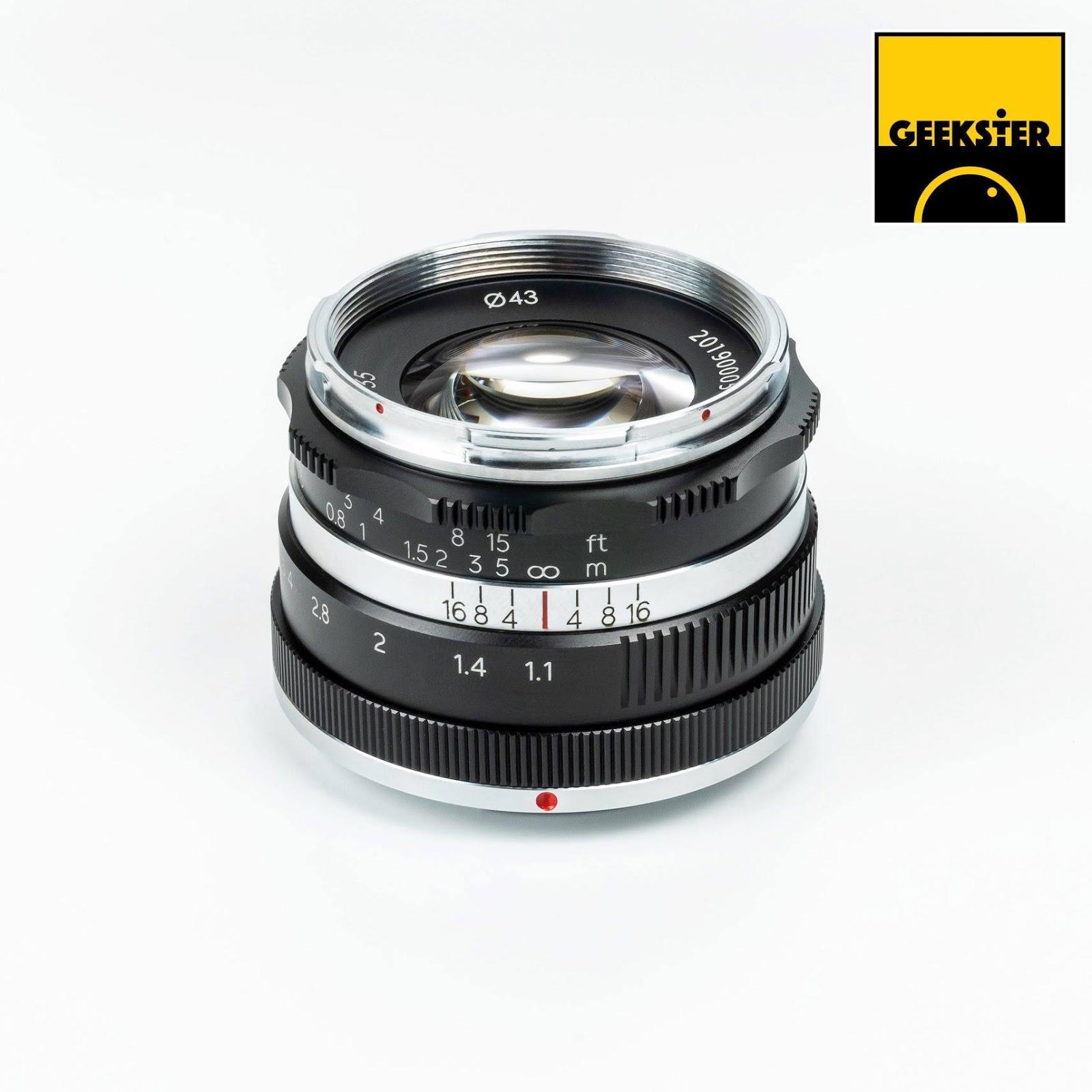 Объектив Geekster 35mm f/1.1