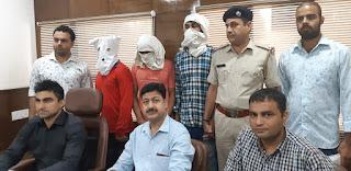 क्राइम ब्रांच प्रभारी संदीप मोर ने लूट करने वाले शातिर गिरोह के तीन आरोपियों को भेजा जेल