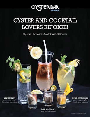 New Cocktails and Happy Hour Promo from Via Mare