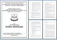 Dokumen Sekolah Penyusunan KTSP SD Hasil Revisi Tahun Ajaran 2016/2017