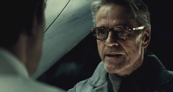 "Alfred en ""Batman V Superman: Dawn of Justice"""