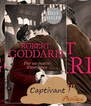 Par un matin d'automne Robert Goddard Thiepval première guerre mondiale