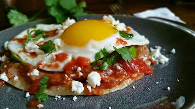 Huevos Rancheros with Avocado