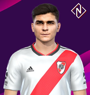 PES 2019 Faces Julian Alvarez by Nahue