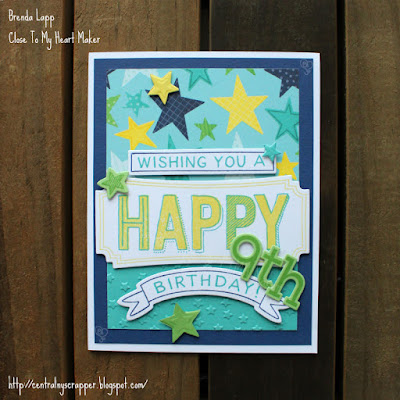 birthday card for young man - card front