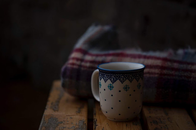 White and Blue Coffee Mug | Photo by Joanna Kosinska via Unsplash