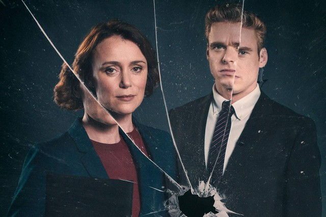 poster of bodyguard tv series showing female lead and male lead