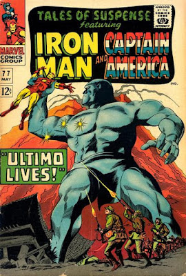 Tale of Suspense #77, Iron Man vs Ultimo