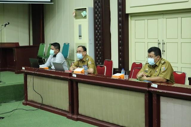 Asisten Administrasi Umum Pimpin Rakor Pengadaan Barang Dan Jasa Pemprov Lampung