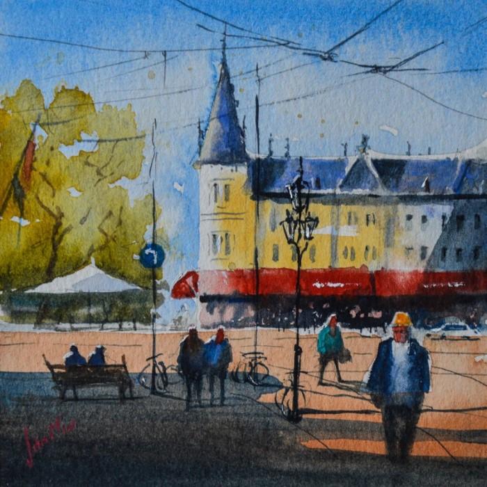 Нидерландский художник-акварелист.