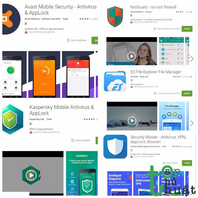 Top 5 ứng dụng giúp bảo mật và tăng tốc thiết bị Android