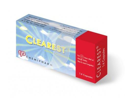 سعر ودواعى إستعمال دواء كليريست Clearest للحساسية