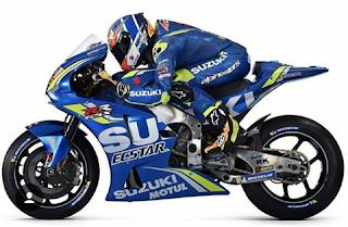 Ini Dia Suzuki GSX-RR MotoGP 2018