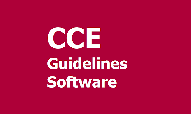 CCE: Continuous and Comprehensive Evaluation Guidelines, CCE Software
