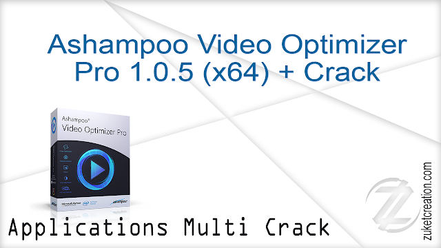 Ashampoo Video Optimizer Pro 1.0.5 (x64) + Crack