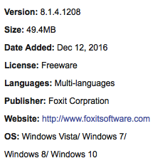 Download Foxit Reader Offline Installer Full Version Free Support: